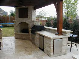 Of Outdoor Fireplaces Outdoor Fireplace Kitchen Designs Jen Joes Design Simple
