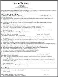 Chronological Sample Resume Reverse Chronological Example Of