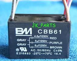 ceiling fan capacitor 5 wire 5 wire ceiling fan capacitor ceiling fan capacitor 5 wire 45