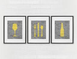 art for the dining room. Dining Room Wall Art - Kitchen Prints Signs Wine \u0026 Dine Modern Black And White | For The