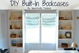 diy built in book case tutorial