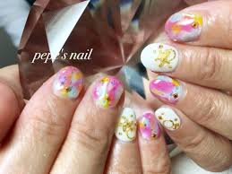Pepes Nailさんのネイルデザイン 夏のトロピカルネイル人気のア