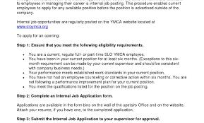 Best Internal Job Application Resume Sample Images Entry Level