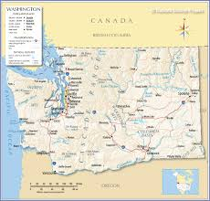 reference map of state of washington usa  nations online project