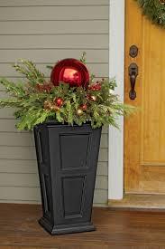 Best 25+ Outdoor christmas planters ideas on Pinterest | Christmas ...