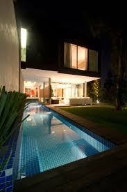 home swimming pools at night. The Benefits Of Lap Pools And Their Distinctive Designs Home Swimming At Night