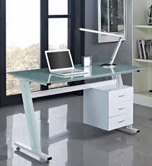 office desk glass. Office Desk Glass Top. Computer Black Or White With Top And 3 Drawers T