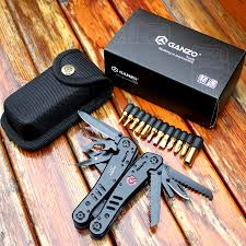 Ganzo Knife Tools G301B <b>Folding Plier Outdoor</b> Survival <b>Camping</b> ...