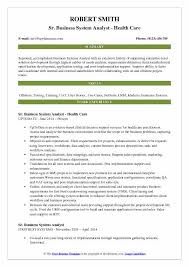 Business Systems Analyst Resume Template Adorable Business System Analyst Resume Samples QwikResume