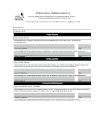 free employee warning forms sample employee warning forms 9 free documents in word pdf