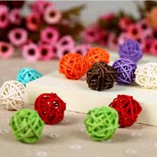Decorative Cane Balls Beauteous 322Pcslot 32 Cm Wedding Party Decorative Rattan Balls Wicker Cane