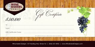 template personalized gift certificate template printable design your own templates free