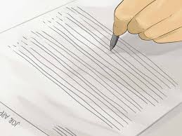 3 Ways To Write A Job Application Essay Wikihow