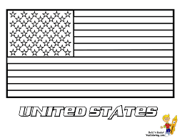 usa flag coloring pages free large images