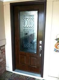 cost of fiberglass entry doors or steel door the wood grain system with 3 4 lite