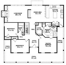 one room house plan with bathroom outstanding lovely 3 bedroom 2 bath 1 story house plans