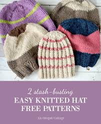 Easy Knit Hat Pattern Free Best 48 StashBusting Knitted Hat Patterns 48 Days Of Handmade Gifts An