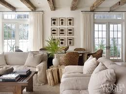 the bination living and dining room showcases designer melanie turner s deft use of tactile textures to create a serene e