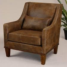 clay leather armchair