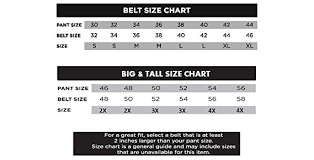 40 Disclosed Size Chart For Big And Tall