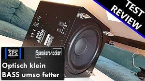 Subwoofer Test Acoustic Energy AE108 | Review | Soundcehck | Basstest. Der  Bass kommt tief. - YouTube