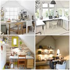 Cozy Attic Home Office Design Ideas Home Interior Design Kitchen