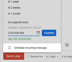 Email Me Recurring Email And Reminders For Gmail Boomerang For Gmail