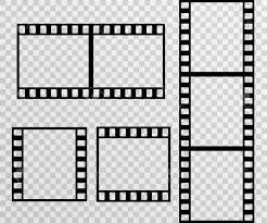 Photostock Vector Film Strip Photo Frame Vector Template
