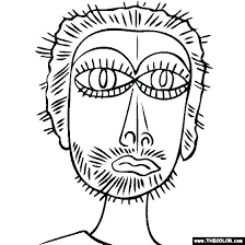 Paul Klee Coloring Pages For Coloring Sheets Best Final Piece Images