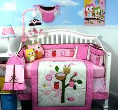 owl themed crib bedding sets baby girl owl crib bedding crib bedding sets
