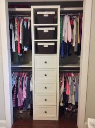 Small Shared Bedroom Small Shared Girls Closet Built In Redo Pinteres