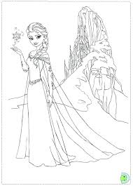 Free Printable Disney Frozen Christmas Coloring Pages Littledelhisfus