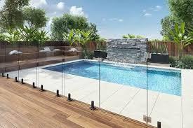 glass pool fence chisel spigots mini posts