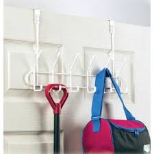 12 Hook Coat Rack White 100 Hook Over Door Coat Rack Storables 92