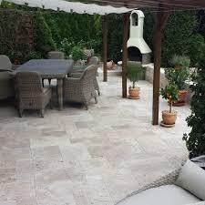 ivory travertine french pattern travertine tiles