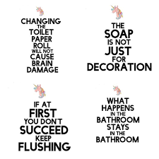 Clean Bathroom Signs Printable  Like SuccessPrintable Keep Bathroom Clean Signs