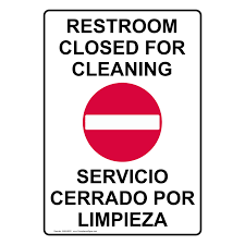 Restroom Out Of Order Sign Printable Carpetcleaningvirginia Com
