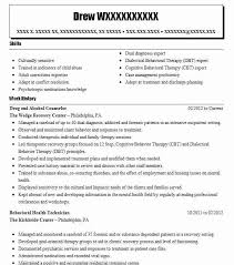 Resume Templates Drug And Alcohol Counselor Professional. nursing ...
