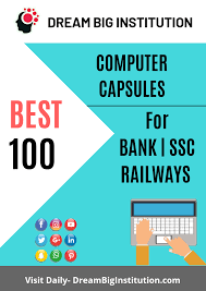 best 100 computer mcq pdf for bank ssc and railways exams