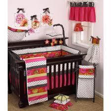 cotton tale designs tula polka dots 4 piece crib bedding set