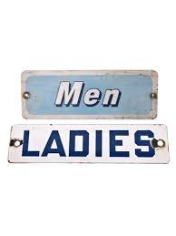 occupied bathroom sign. Bathroom Occupied Signs Vintage Gas Station Metal Restroom For Women Men Sign