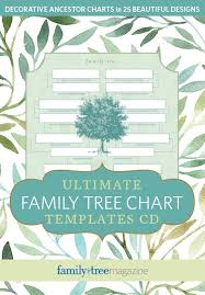 Family Tree Chart Templates Ultimate Family Tree Chart Templates Cd Shopfamilytree