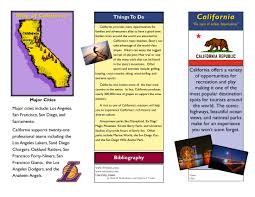 Travel Brochure Examples For Students Theveliger