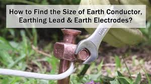 Grounding Electrode Conductor Size Chart Finding The Size Of Earth Conductor Earthing Lead Earth