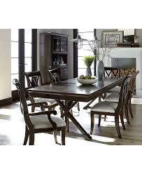 36 Round Dining Table With Leaf Dining Room Furniture Macys