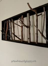 Unusual Coat Racks Somewhat Quirky Coat Rack Made From Branches and Twigs 57