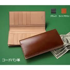 purse horse leather cordovan mens long wallet purse leather japan made leather accessories no