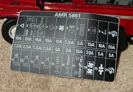 land rover defender 90 110 decal label badge amr5861 fuse box range rover fuse box diagram at Land Rover Fuse Box