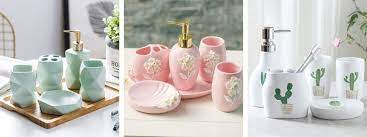 50 Absolutely Cute Bathroom Accessories Sets