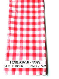 red and white gingham check plastic tablecloth round table cover ideas tablecloths awesome pink with disposable red gingham tablecloth